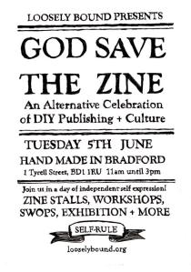 God Save The Zine event by Loosely Bound